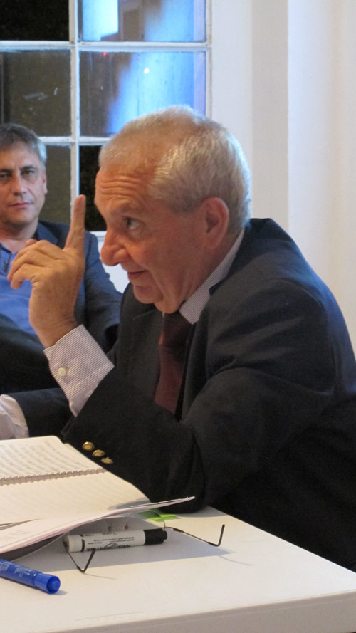 Humberto Ricalde en el CCAU Centro para la CUltura Arquitectónica y Urbana. Miércoles 19 de septiembre 2012