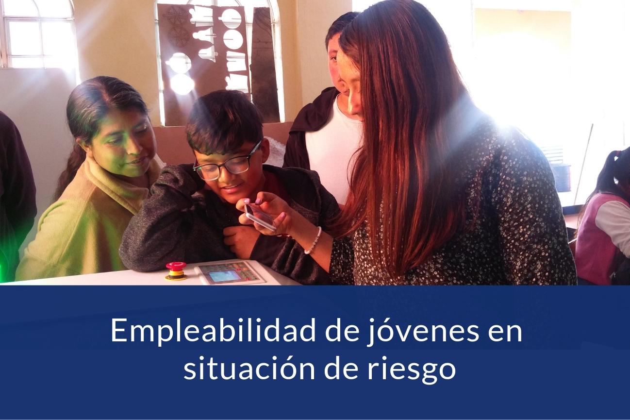 Empleabilidad juvenil proyecto CISAI