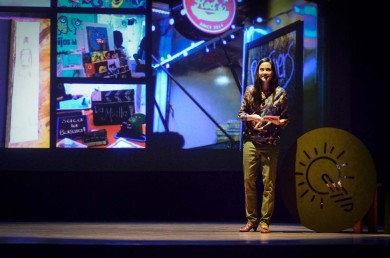 Pilar Gómez participó en Emprende ITESO 2015