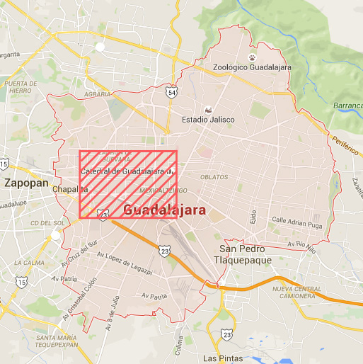 Mapa-GDL