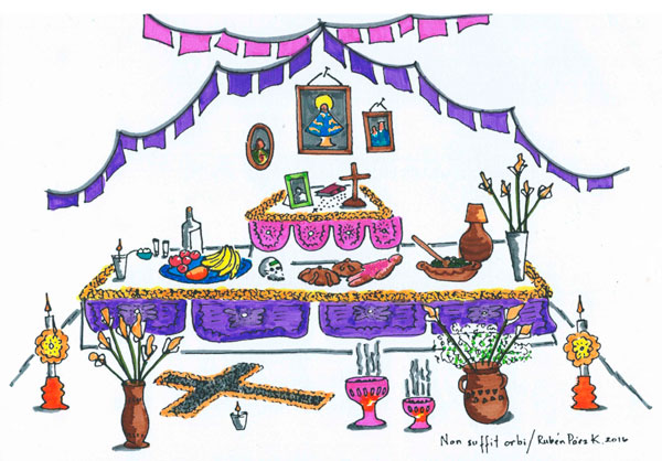Elaboracion De Altares Sencillos Para Difuntos